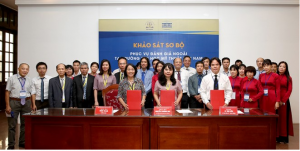 Signing of the Preliminary Report at Viet Nam University of Fine Art