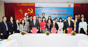 Signing of the Preliminary Report at Viet Nam University Of Traditional Medicine