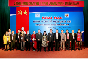 CEA-AVU&C Accreditors and Viet Nam University Of Traditional Medicine Leaders at the Opening Ceremony for Institutional Accreditation Review visit