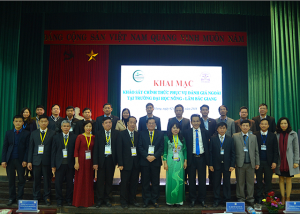 CEA-AVU&C Accreditors and Bac Giang Agriculture and Forestry University Leaders at the Opening Ceremony for Institutional Accreditation Review visit